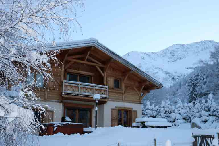Chamonix Chalets in Easter For Rent